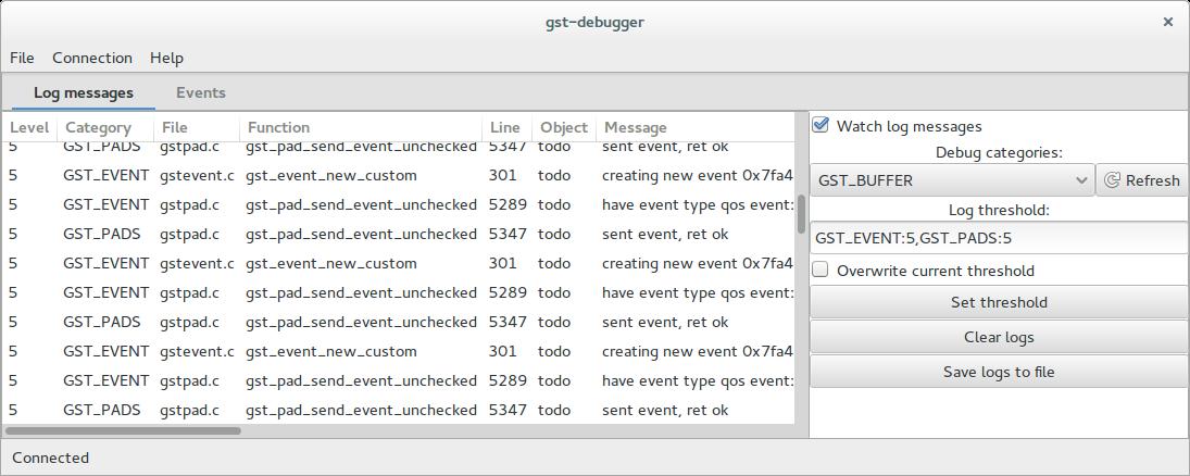 Loganek's DevCookLog: GStreamer Debugger - introduction