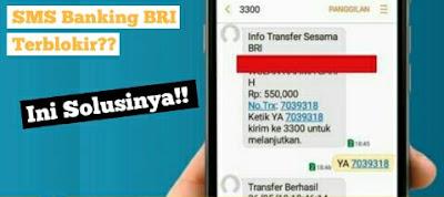 lupa pin sms banking bri terblokir