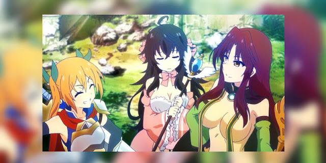 Rekomendasi Anime Game, Tentang Masuk Dunia Game Netoge no Yome wa Onnanoko ja Nai to Omotta terbaru