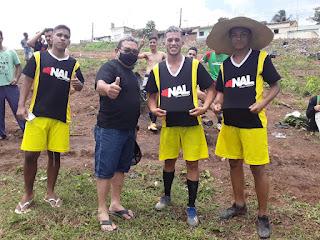 Em Guarabira o vereador Nal do São José prestigia torneio de Bairro, no Assis Chateuabriand.
