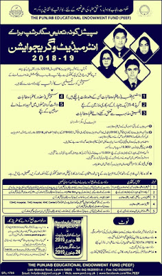 Punjab Educational Endowment Fund Scholarship Latest Punjab
