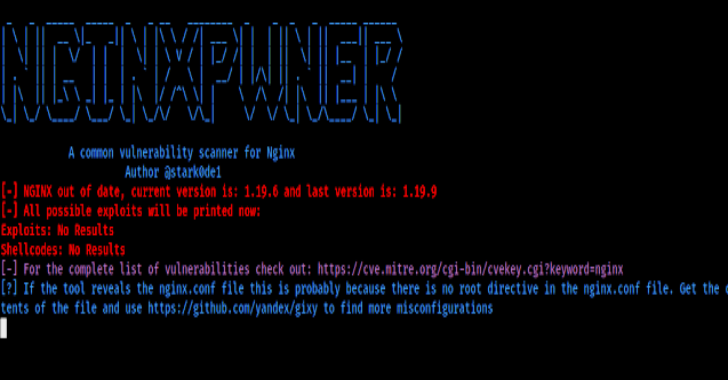 Nginxpwner : Tool To Look For Common Nginx Misconfigurations & Vulnerabilities