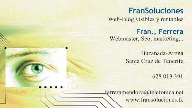 Empresa para web en Tenerife