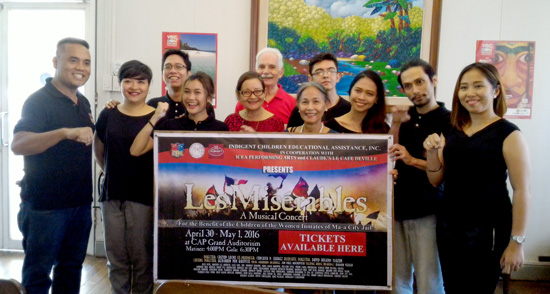 Les Miserables Musical Concert, Davao City