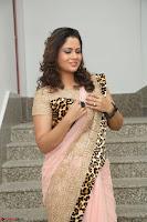 Shilpa Chakravarthy in Lovely Designer Pink Saree with Cat Print Pallu 026.JPG