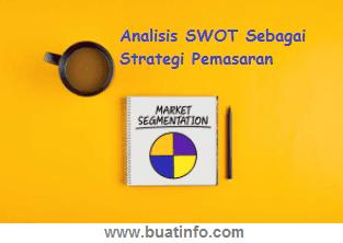 Buat Info - Analisis SWOT Sebagai Strategi Pemasaran