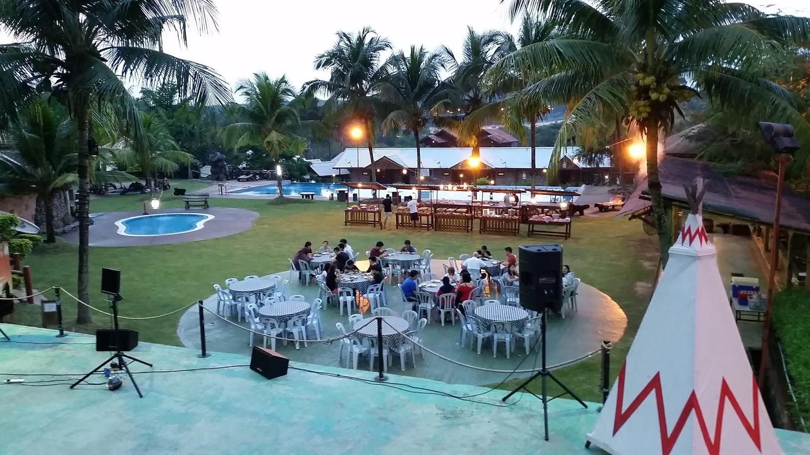Utopia Team Building Eagle Ranch Resort Port Dickson Dinner