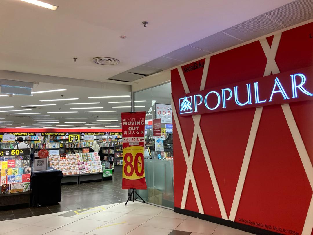 Popular BookStore Avenue K Will Be Closed!