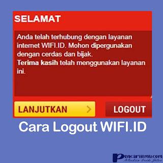 Cara Login dan Logout WIFI.ID