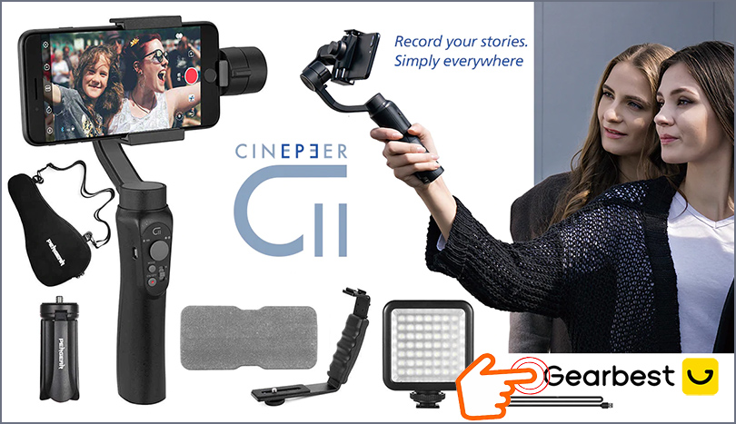 3-Axis-Phone-Handheld-Gimbal-Stabilizer-Dolly-Zoom-Panorama-gearbest
