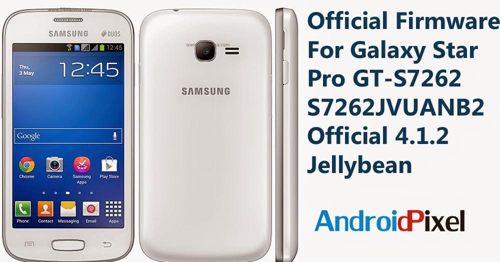 Samsung Galaxy Star Plus Duos S7262 прошивка