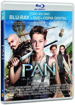Pan: Viaje a Nunca Jamás (2015) 3D Latiino