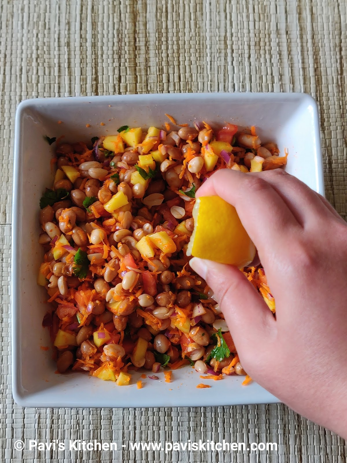 Peanut Chaat | Peanut Vegetable Salad | Boiled Peanut Chaat