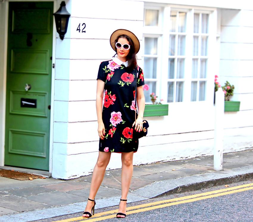 SMART  Floral  DRESS