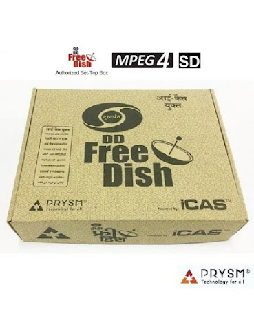 DD Freedish MPEG4 Set-Top Box, I-Cas Set-Top Box, Prasar Bharati Box