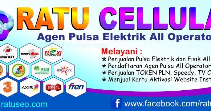 Download Spanduk Jual Pulsa All Operator CDR
