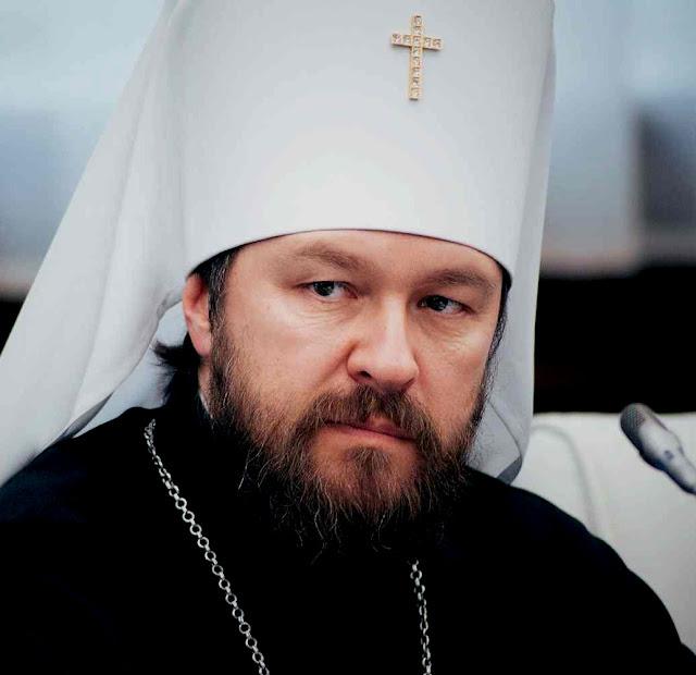 O metropolita Hilarion, portavoz do Patriarcado de Moscou confirmou que estariam dispostos a sagrá-lo 'czar'