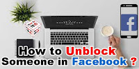 How to Unblock Someone on Facebook App?