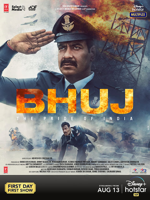 Bhuj: The Pride Of India Movie 2021: Review, Cast & Crew Or StoryLine.