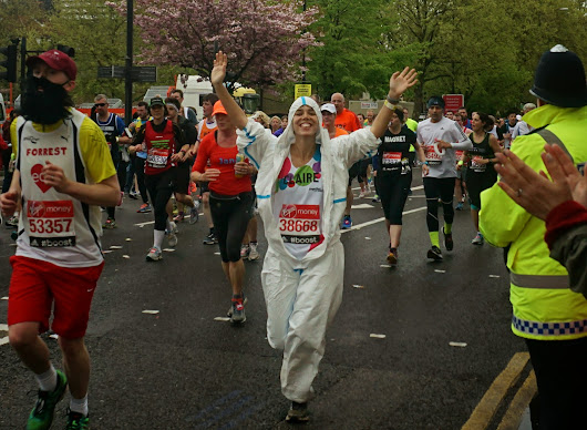 The London Marathon - a great little finish to my time with King's Sierra Leone Partnership