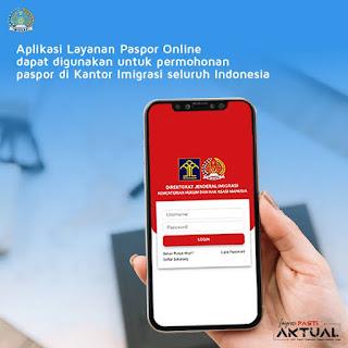 aplikasi layanan paspor online