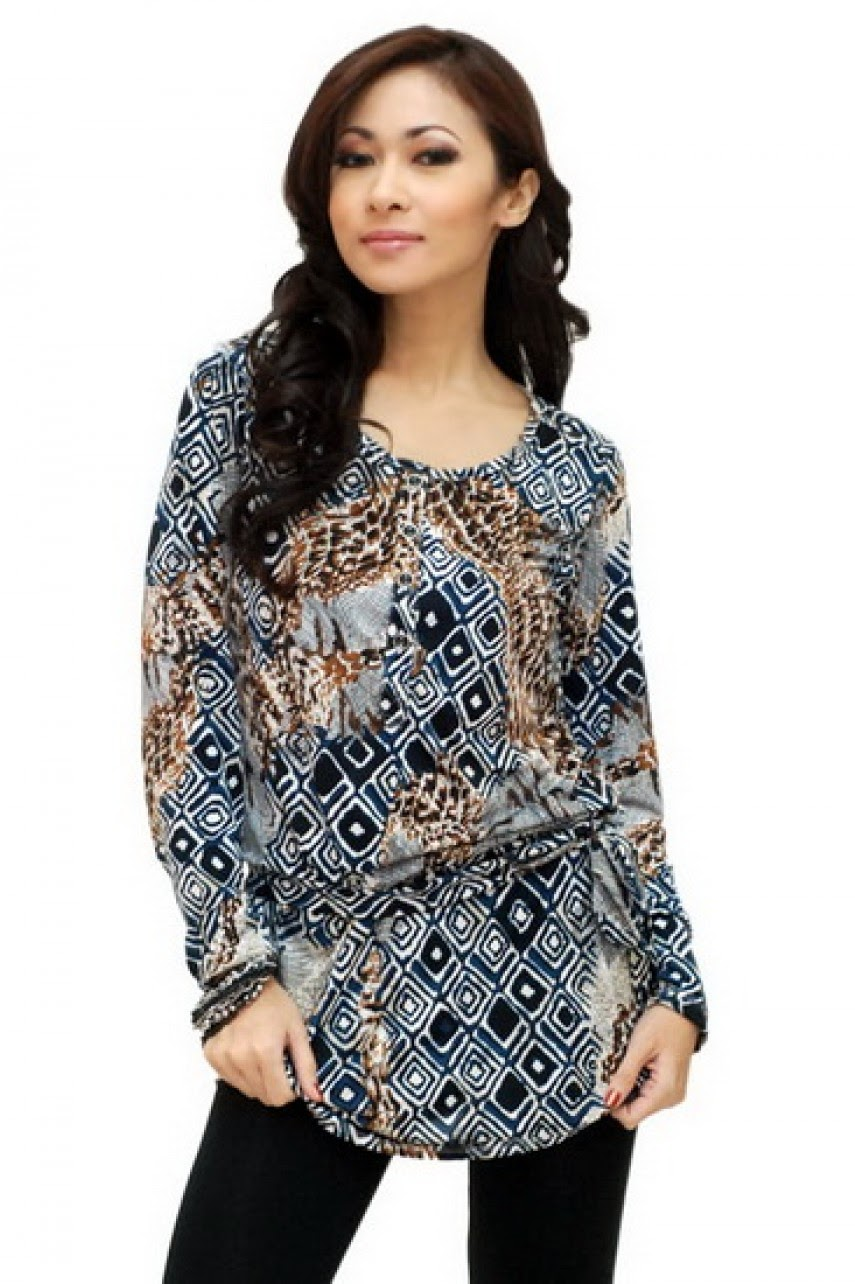 8 Inspirasi dan Ragam Model Baju Batik Wanita Untuk Kerja
