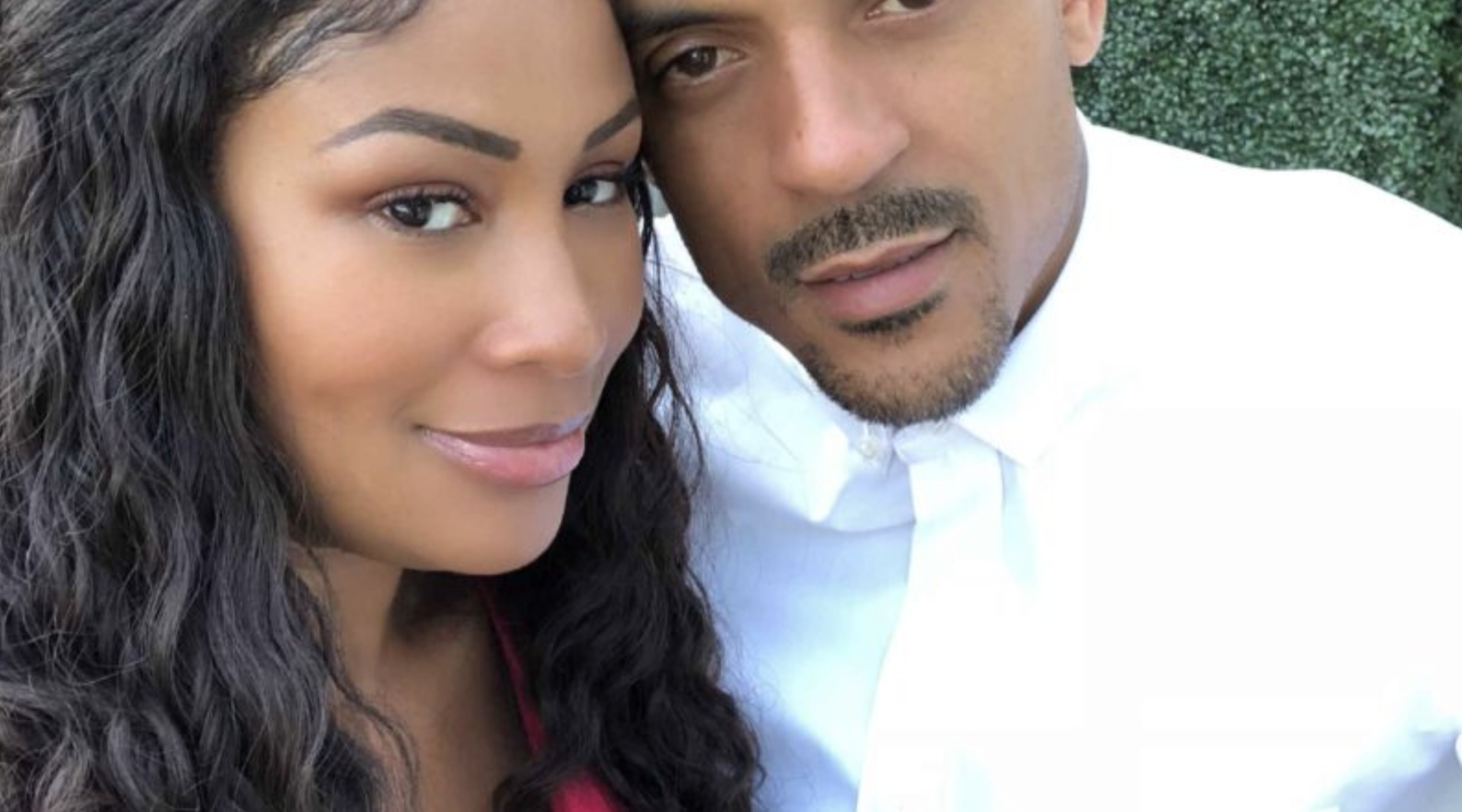 Rhymes With Snitch Celebrity And Entertainment News Anansa Sims And Matt Barnes Call It Quits