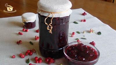 Preparare dulceata de merisoare - etapa 8