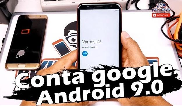 Conta Google Android 9.0 Passo a passo, Desbloquear e Restaurar