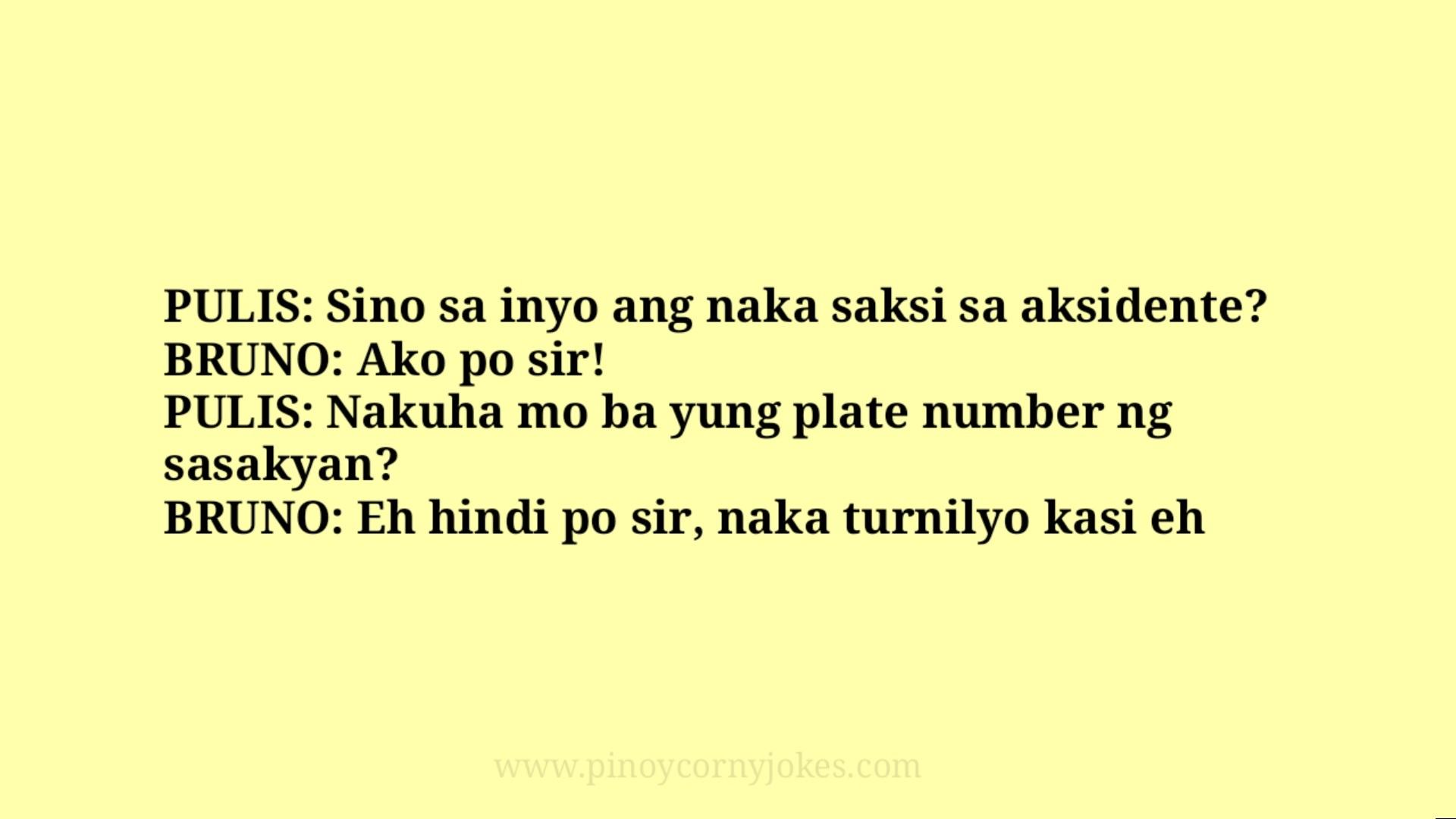 saksi best pulis tagalog jokes