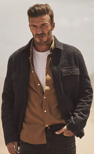 moda hombre David Beckham H&M