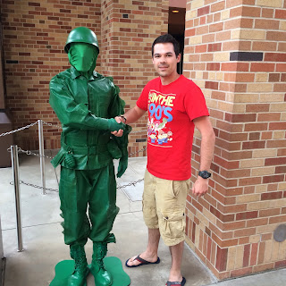 pixar place hollywood studios green army man