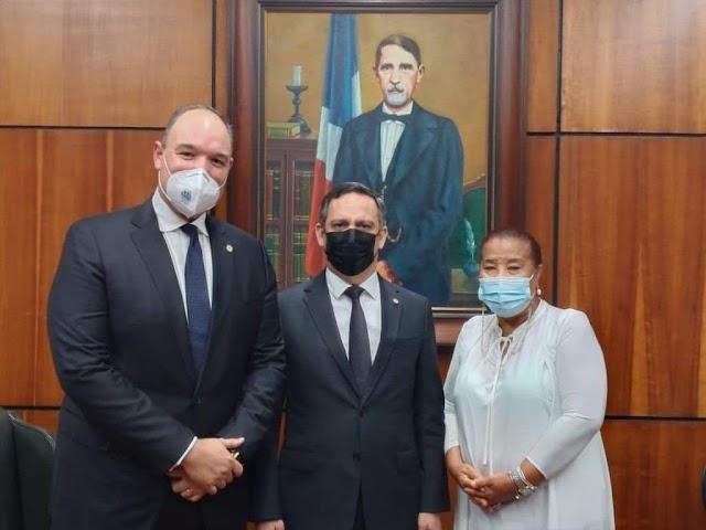 Congresistas Barahoneros se reunen con el  presidente de la Suprema Corte de Justicia
