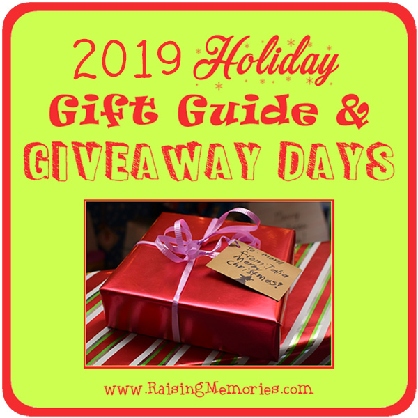 Raising Memories Holiday Gift Guide Giveaways 2019