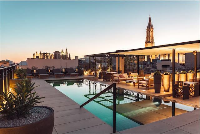Sant Francesc hotel singular en Mallorca piscina en la azotea chicanddeco