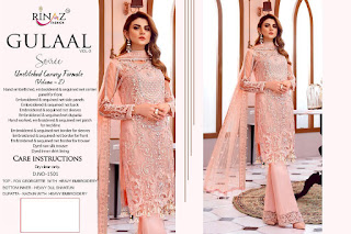 Gulal Vol 3 By Rinaz Fashion Pakistani Suits Collection