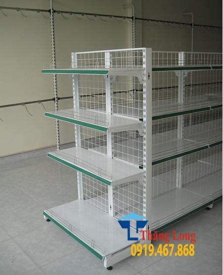 Đầu kệ siêu thị C1500 x D700 x R350 mm
