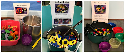 Soup Storytime, Soup Activities, Soup Early Literacy Activities