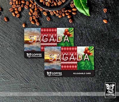 Bo's Coffee Holiday Offers, Sagada Reloadable Card