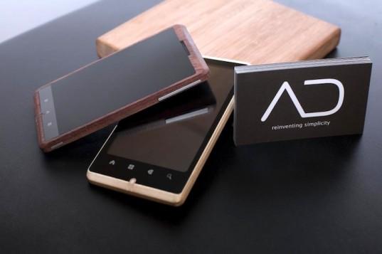 Smartphone Unik Dari Bambu Desainernya Bosan