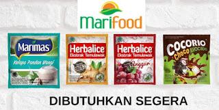 Lowongan Kerja Sebagai Admin Stock Point di PT. Ulam Tiba Halim (Marifood)