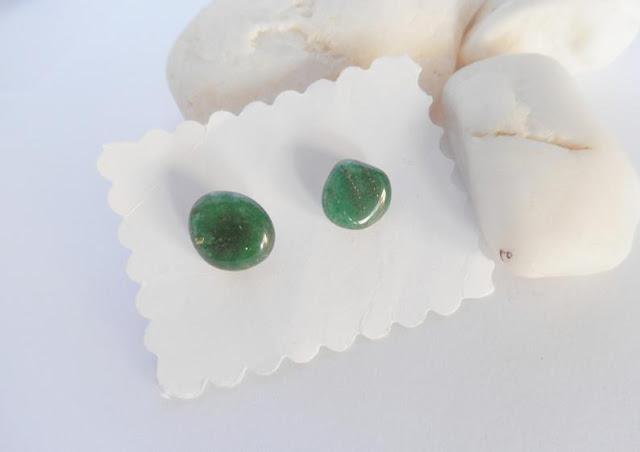 pendientes-botón-jade-verde