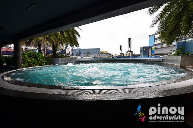 Aquarium themed hotel in Manila
