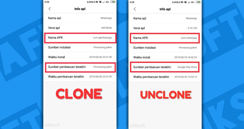 Clone dan Unclone