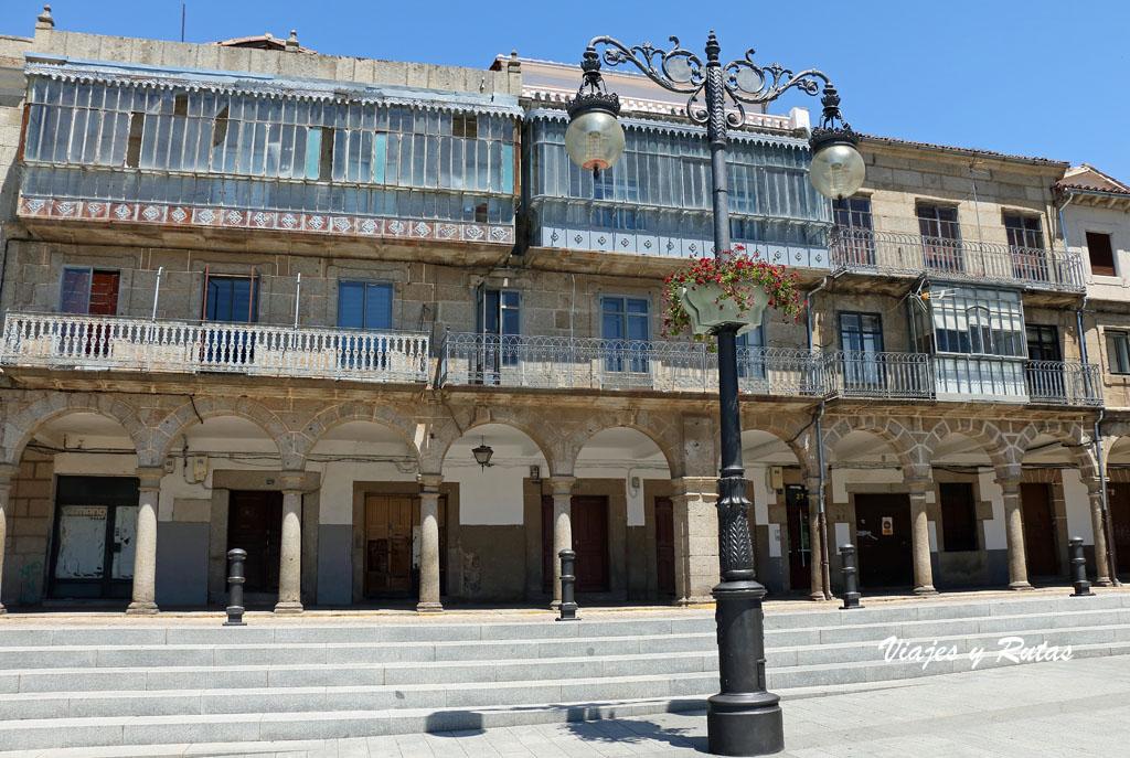 Plaza Mayor de Béjar