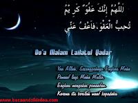 Bacaan Doa Amalan Malam Lailatul Qadar Arab Latin dan Terjemahannya