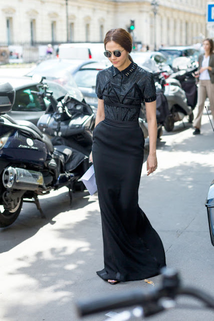 Fashion Week in Paris : Araya A. Hargate