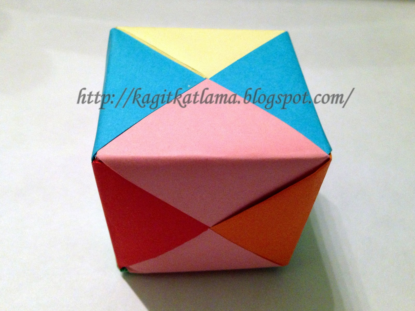 Origami: Origami Küp - photo#26