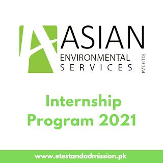 Asian Environmental Services Internship Program 2021