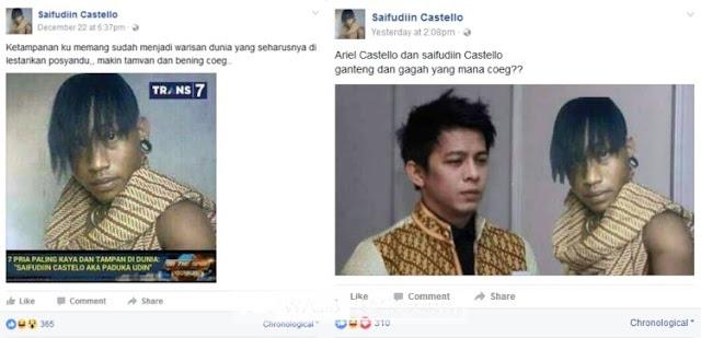 Mengaku Tampan, Kenakan Berlian dan Topi Import, Pria Ini Malah Dicerca Netizen!
